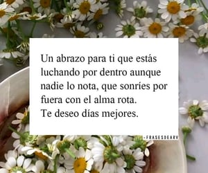 fuerza, abrazo, and frases image