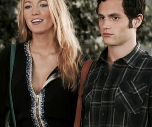 blake lively, gossip girl, and Penn Badgley image