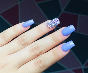 morado, purple, and uñas image