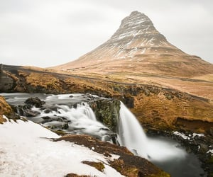 iceland, mountain, and landscape image
