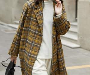 etsy, wool coat, and women coat image