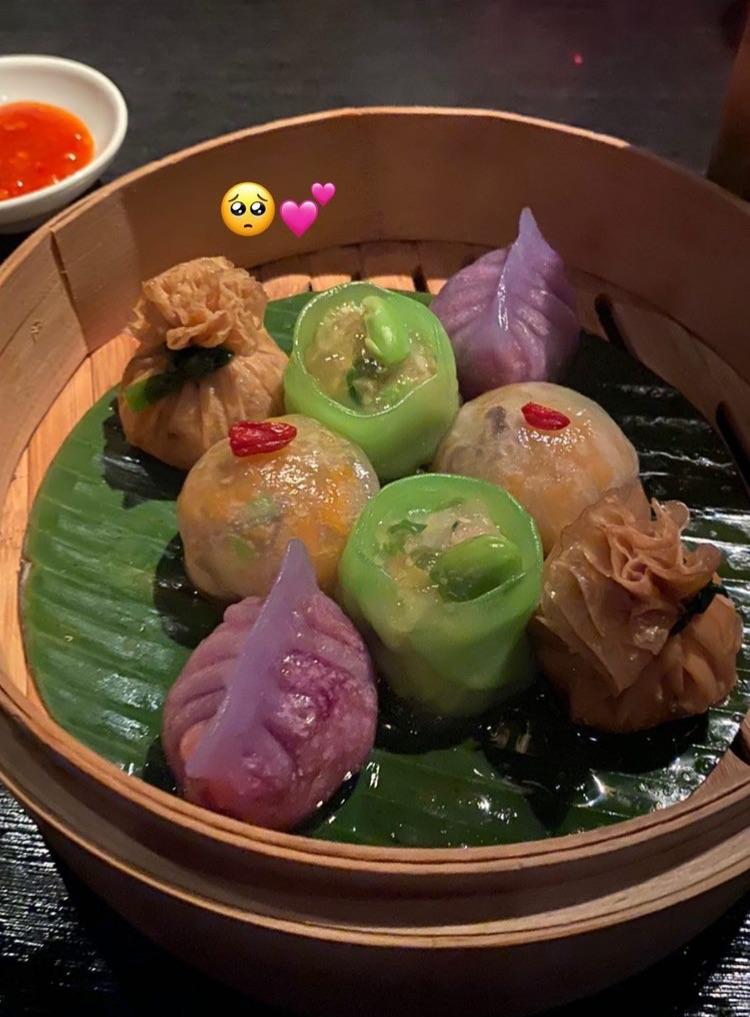 aesthetic, asian, and dumplings image