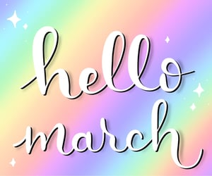 handlettering, spring, and year image