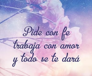fe, flores, and frases image