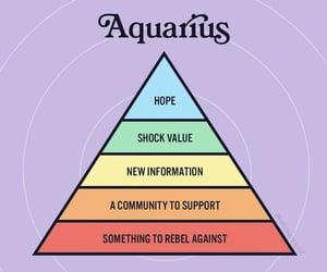 aquarius, astrology, and rising image