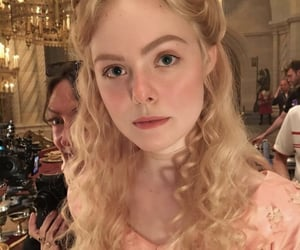 Elle Fanning, the great, and maleficent image