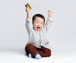 credit card, money management, and teaching kids image