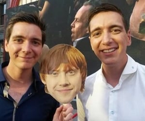 james phelps, oliver phelps, and fred weasley image