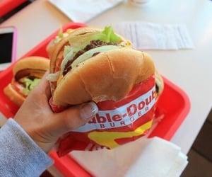 burgers, food, and tasty image