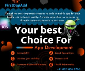 digital marketing company, mobile app development, and android app development image