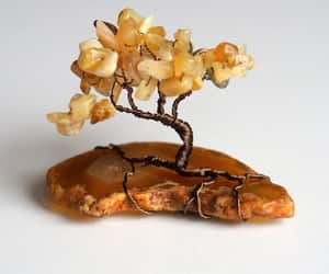 gift for sister, citrine chips tree, and etsy image