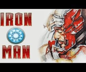 Avengers, iron man, and tony stark image