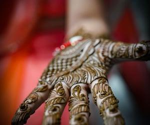 brides, bridal mehndi, and lifestyle image