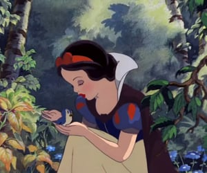 bird, forest, and disney image