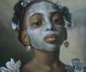 art, portrait, and portraiture image