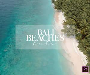 bali, beach, and tropical image