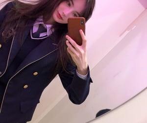 girl, kpop, and uniform image