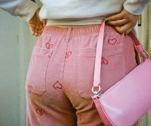 bag, denim, and jeans image