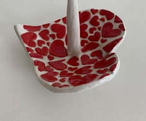 art, heart, and pottery image