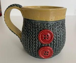art, mug, and pottery image