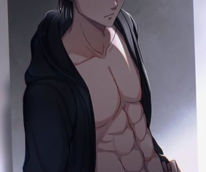 anime, attack on titan, and handsome image