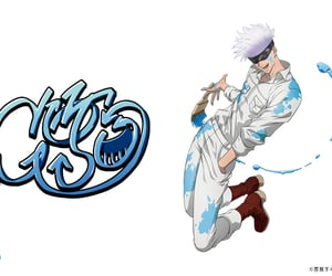 anime, gojo, and handsome image