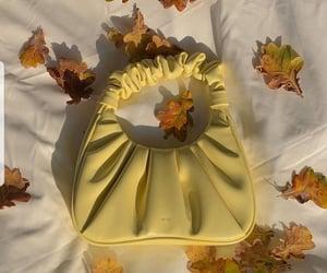 amarillo, bag, and fashion image