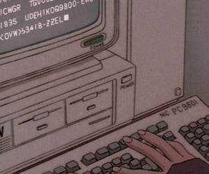 computer, aesthetic, and art image