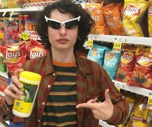 rare, stranger things, and finn wolfhard image
