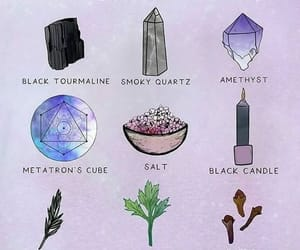 quotes, crystal, and protection image