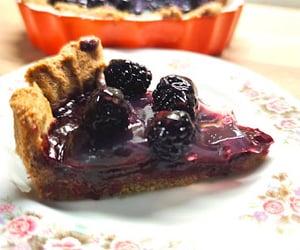 veganfood, blackberry, and food image