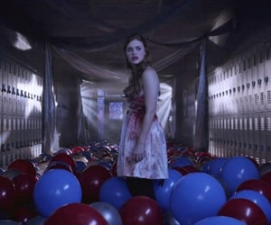 balloons, aesthetic, and creepy image