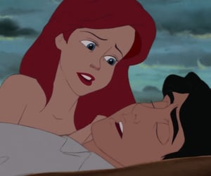 ariel, love, and disney image