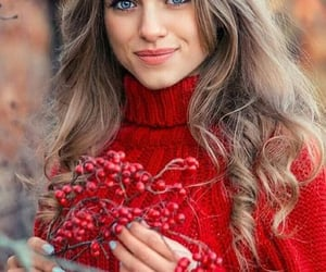 осень, девушки, and красота image