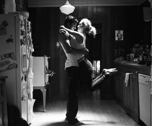 black and white, love life, and Relationship image