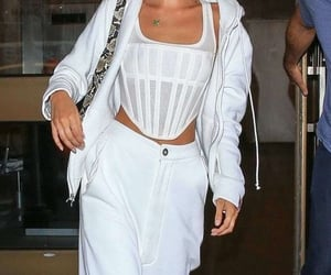 celebrity, outfit, and bella hadid image