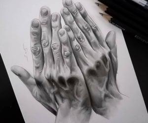 art, artwork, and charcoal image