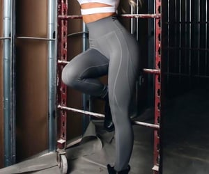 fitness, gym, and leggings image