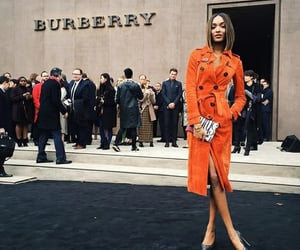 beauty, Burberry, and fashion image