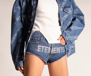 collection, crystals, and denim image