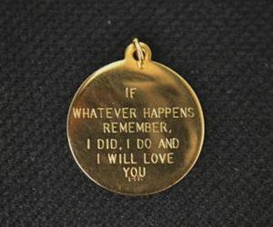 love, quotes, and gold image