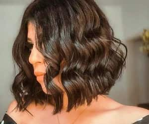 hairstyles, highlights, and hair cuts image