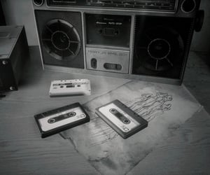 cassette, gray, and drawing image