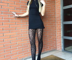 black, model, and thin legs image