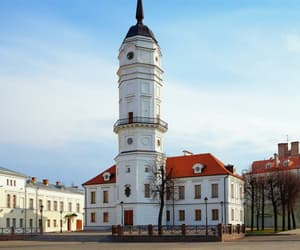 architecture, urban, and belarus image