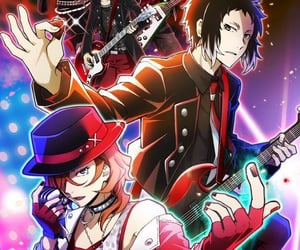 anime, bsd, and official art image