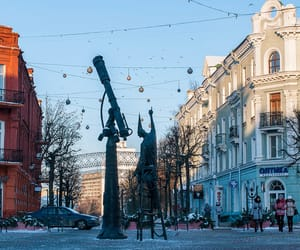 europe, belarus, and statue image