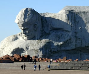 belarus, statue, and travel image