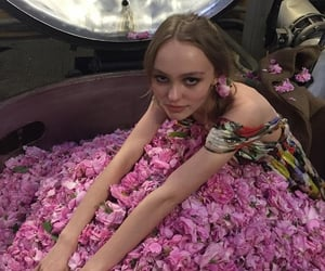 chanel, lily, and lily rose depp image