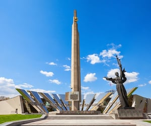 architecture, belarus, and minsk image